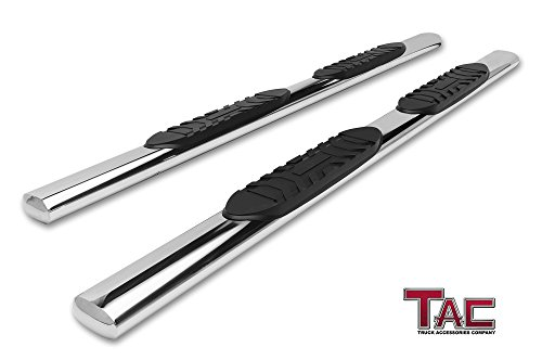 - TAC Side Steps Running Boards Fit 2019 Dodge Ram 1500 Quad Cab (Excl. 2019 Ram 1500 Classic) Truck Pickup 5