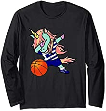c8b426c54 Dabbing Unicorn Basketball Greece Jersey Shirt Greek Bball