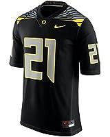 Oregon Ducks #21 Mach Speed Black Stitched Limited Nike Jersey - Men's XL X-Large
