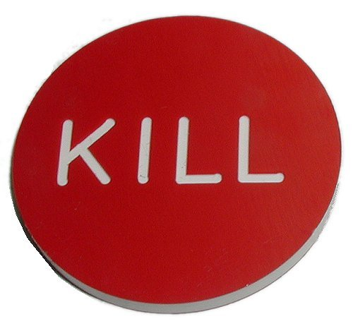 Trademark Global 10-kill Kill Button For Poker Game by Trademark Global