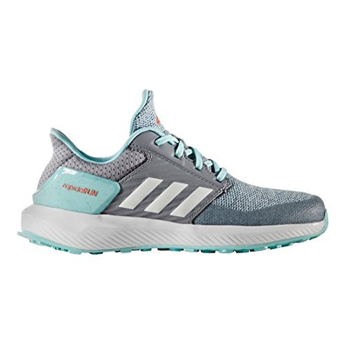 Kids adidas RapidaRun, Energy Blue/Pink, 2.5 Little Kid M by adidas