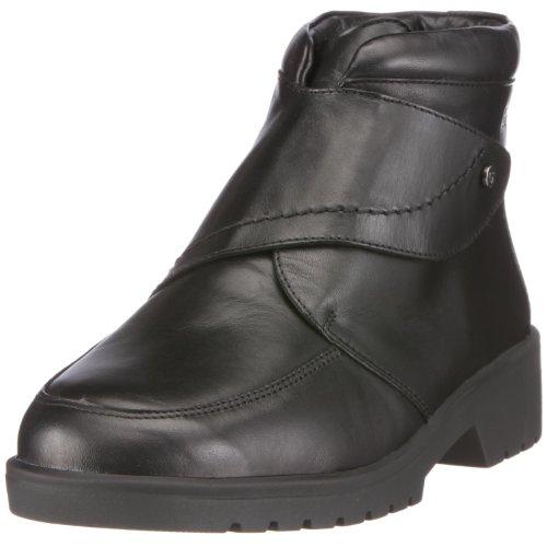 Ganter Ellen Stfl, Weite G 0-205511-0100 - Botas de cuero para mujer Negro