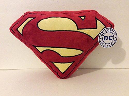 six-flags-magic-mountain-dc-comics-superman-shield-red-big-pillow-plush