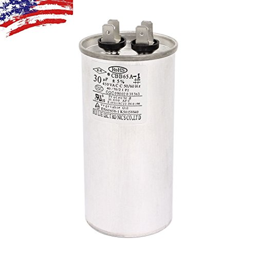 AC 450V 30uF 50/60Hz Air Conditioner Motor Run Capacitor CBB65A-1 CBB65 ()