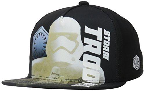 Star Wars Boys' Episode 7 Storm Trooper Baseball Cap, Black, One Size ()