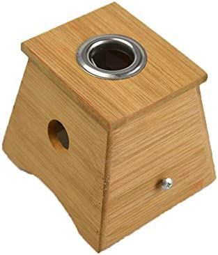 NT _ big one Moxa agujero de sujeción, bambú Moxa caja para fácil y fiable terapia moxibustión: Amazon.es: Hogar