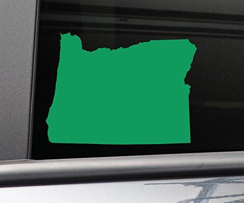 Oregon Vinyl Decal Laptop Car Truck Bumper Window Sticker, 6