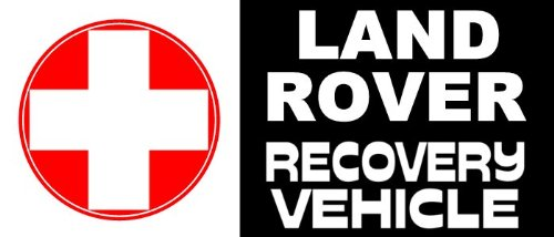 Recovery Vehicle - Decal II - Land Rover (4X4 Vehicle Decal)