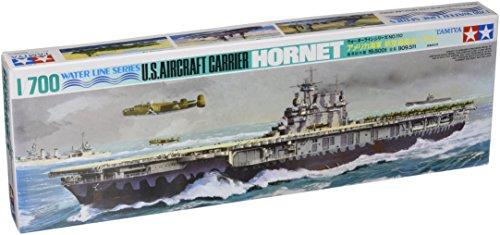 (1/700 U.S. Aircraft Carrier Hornet by Tamiya)