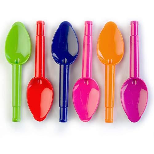 3 cuillè res é ducatives clipsables compatible gourde (coloris au choix) - Multigourde Babyclips Baby' Clips