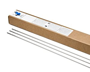 "Blue Demon ER316L x .030 x 36""x 10# Box Stainless Steel Tig Welding Rod by Blue Demon"