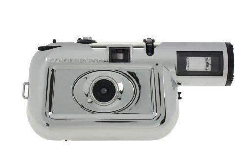 Lomography Chromiac Edition Colorsplash 35 mm de cá mara de cine (cromado/negro) Lomographic Corp Colorsplash Camera Chromiac Edition