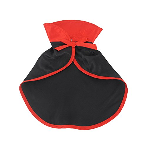 Elfin's Pocket Pet Dracula Cloak Costume Halloween Costume for Small Dogs & Cat Kitten, Cat Costume