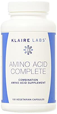 Klaire Labs Amino Acid Complete VCapsules, 150 Count