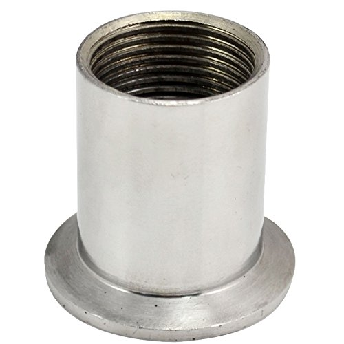 1 DN25 Sanitary Female Threaded Pipe Fitting Fits TRI CLAMP (OD 50.5mm) SS304 by SUPERWHOLE