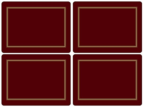 Pimpernel Classic Burgundy Placemats Large product image