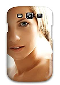 Galaxy S3 Case Cover - Slim Fit Tpu Protector Shock Absorbent Case (women Face)
