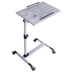 Sobuy mesa auxiliar con ruedas mesas de centro mesas para portatiles mesitas de noche - Mesa auxiliar con ruedas ...