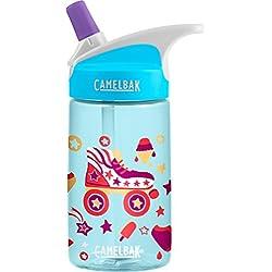 CamelBak Eddy Kids Water Bottle, Roller Skates.4 L