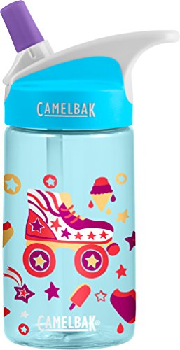CamelBak Eddy Kids Water Bottle, Roller Skates.4 L