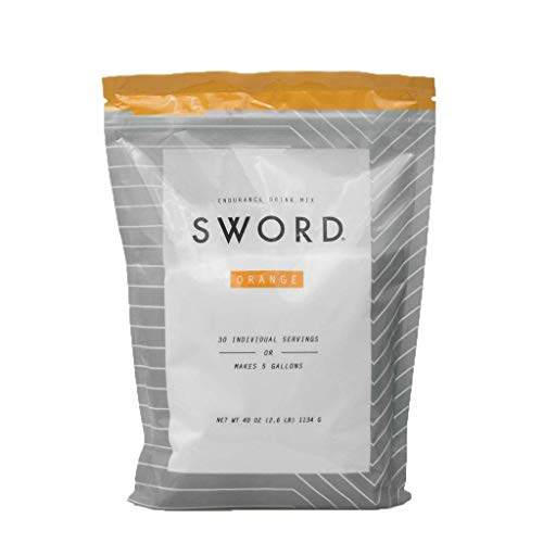 Sword Endurance Drink Mix, Orange, 30 Servings