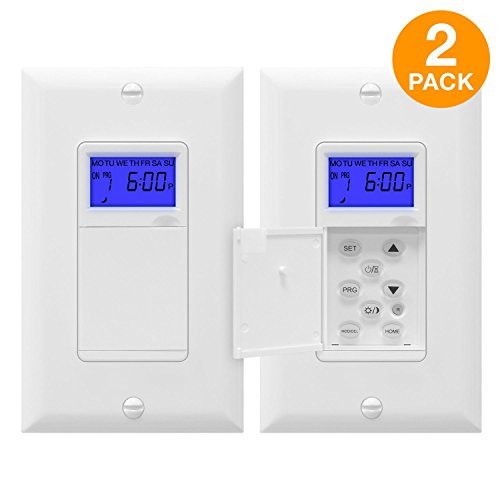 TOPGREENER TGT01-H-2PCS Astronomical Timer Switch, Astronomi