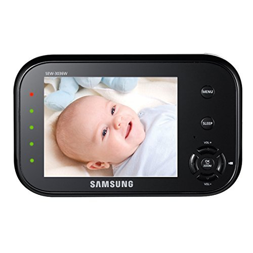 samsung sew 3036 babyview baby monitoring system ir night vision zoom 3 5 inc. Black Bedroom Furniture Sets. Home Design Ideas