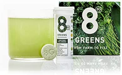 8Greens Effervescent Greens Dietary Supplement