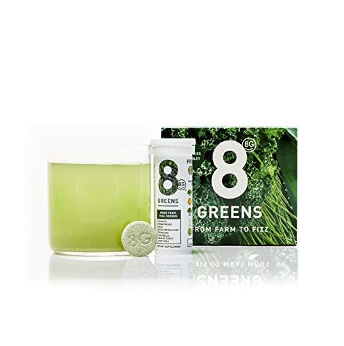 (8Greens Effervescent Super Greens Dietary Supplement - 8 Essential Healthy Real Greens in 1-30 Tablets (3)