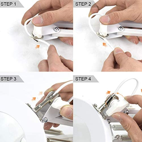 iplusmile LED-Vergr/ö/ßerungslampe mit Klemme 5-Fache Lupenlinse mit Verstellbarem Schwenkarm zum Lesen Der Werkbank f/ür Nacharbeiten
