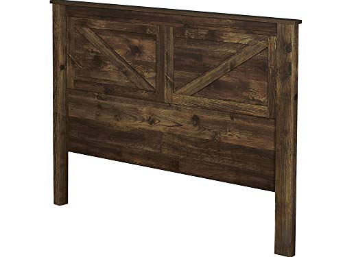 аmеriwооd Hоmе Home Decor 5749215COM Farmington, Queen Headboard, Rustic ()
