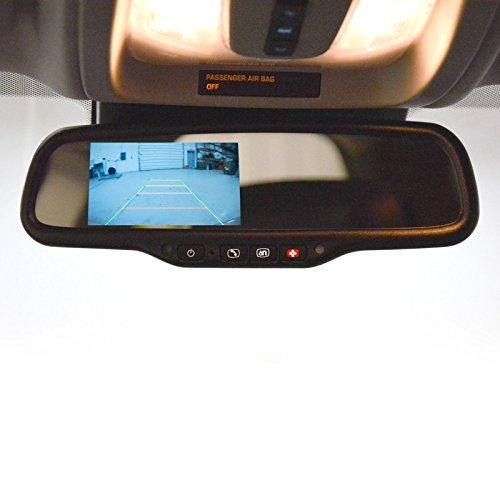 Brandmotion GM Onstar Mirror with 4.3'' LCD Display FLTW-7695