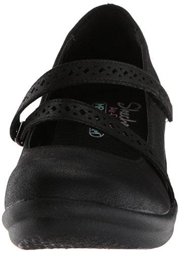 Femmes Noir Femmes Chaussures Skechers Noir Skechers Skechers Plates Chaussures Plates rxoeWdBCQ