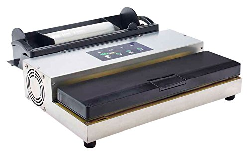 (LEM Products 1253 MaxVac 500 Vacuum Sealer with Bag Holder & Cutter)