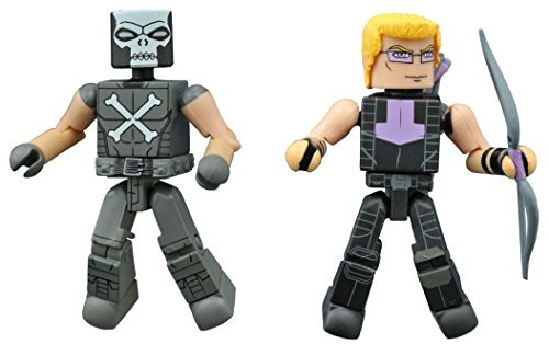 Minimates Marvel Animated Series Avengers Assemble 2 Pack Exclusive Crossbones Hawkeye