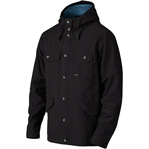 Oakley Men's Momentum Jackets,Medium,Jet Black