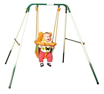 Amazon Com Portable Baby Toddler Indoor Outdoor Play Swing Set Baby