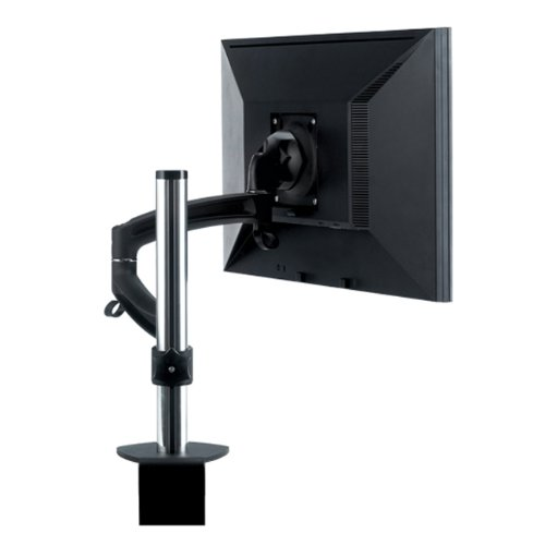 K2 Series Single Display Colmn Mount, Black by Milestone