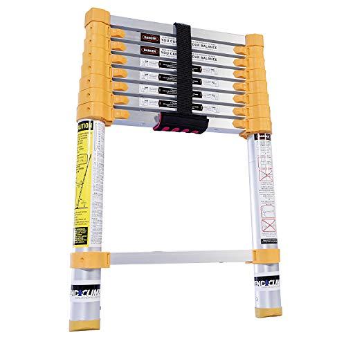 Xtend & Climb Home Series 770P+ Telescoping Ladder, Yellow