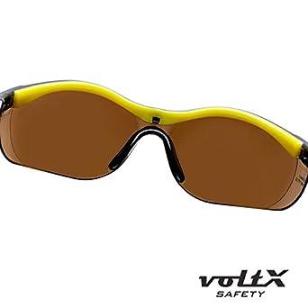 4489acf5e7 Certificado CE EN166FT TRANSPARENTE dioptria +1.0 voltX GT Gafas de  seguridad de lectura bifocales adjustables ...