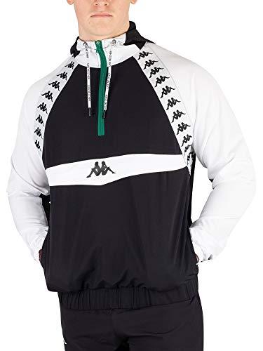 Kappa Men's Bakit Authentic Jacket, Black, XL