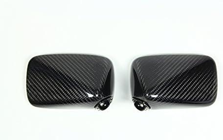 マジカルレーシング(MAGICAL RACING) バイクミラー レーサーレプリカミラー タイプ4 ヘッド(綾織りカーボン) ブラック・スーパーロングエルボ 115mm Aタイプ[取付ピッチ:27~41mm] A01-TWRK-A4012