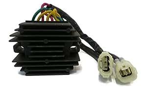 Voltaje regulador rectificador para Polaris Outlaw 2008–2010450& 2007–2011525ATV por la tienda de Rop