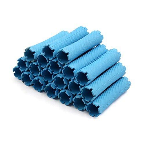 Amazon.com: eDealMax 20pcs plástico Azul de Estilismo ...