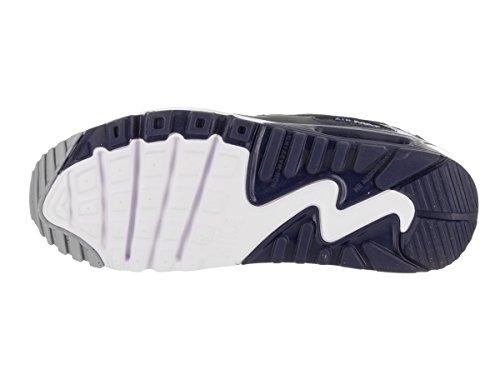 Nike Air Max 90 LTR GS - Zapatos de Gimnasia Niños Gris (Wolf Grey/binary Blue/comet Blue/white)