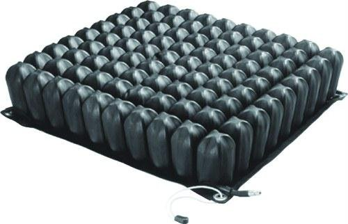 Single Valve Cushion - Roho 16 X 16 High Profile Single Valve Wheelchair Seating and Positioning Seat Cushion