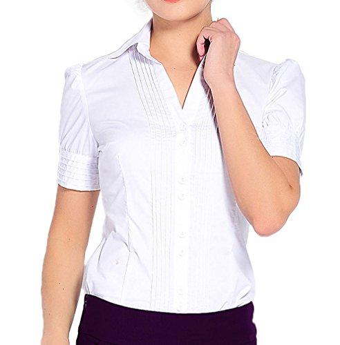 Soojun Sleeve Button Career Bodysuit