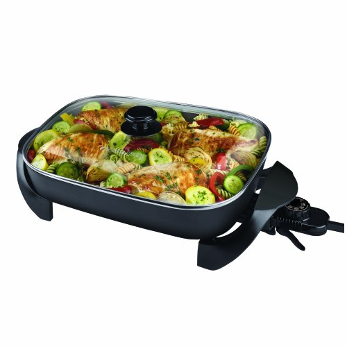 Black & Decker SK1215BC Family Sized Electric Skillet, Black ()