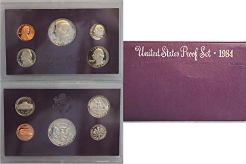 1984 S US Mint Proof Set OGP
