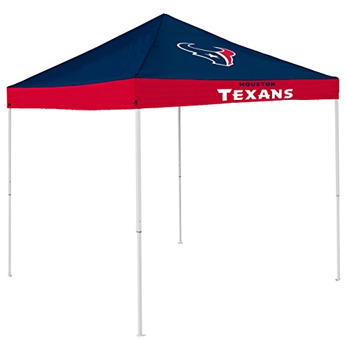 Logo Brands NFL Houston Texans Economy Tent, Navy, One Size
